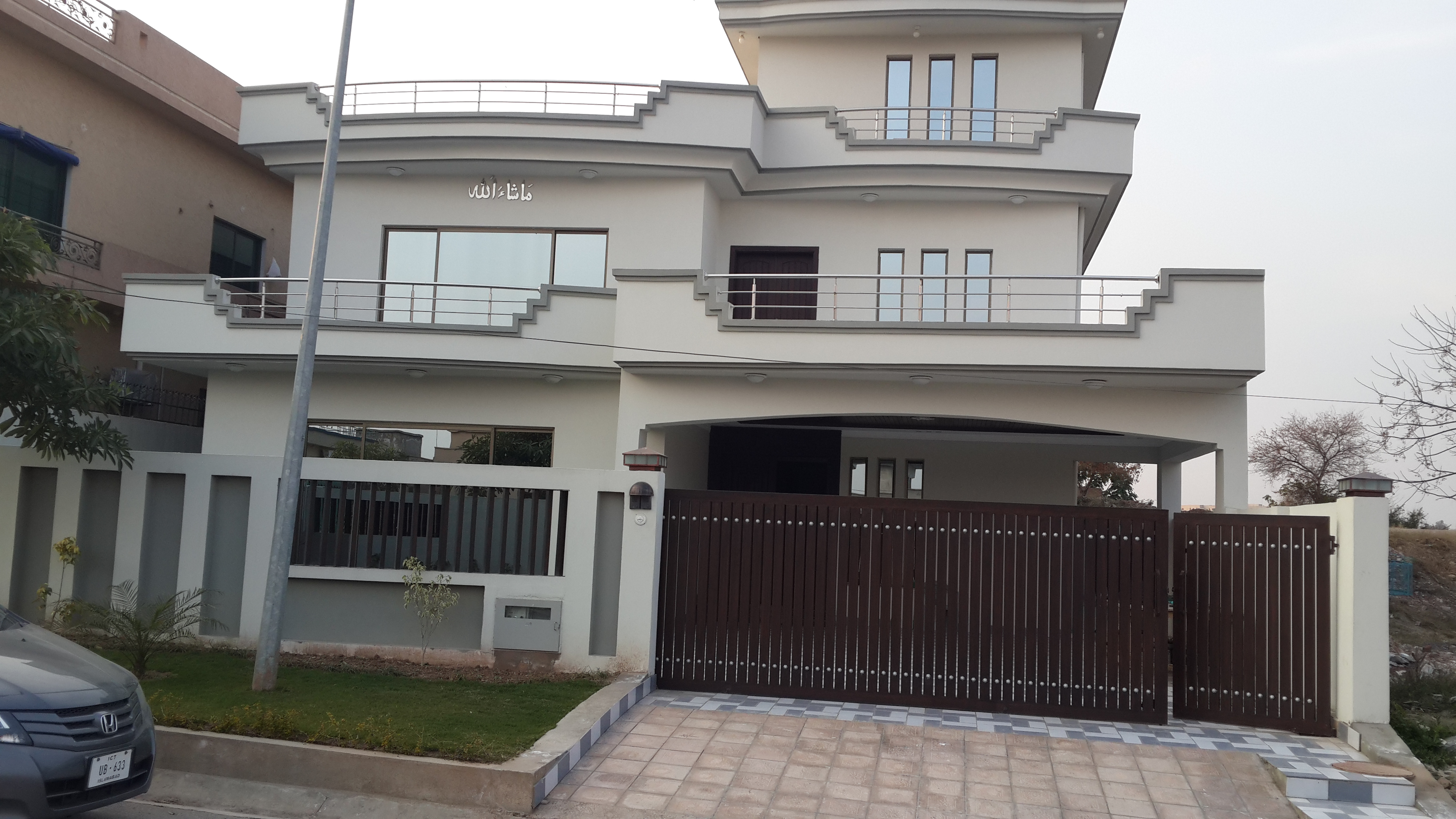 Double unit house for sale in dha i sector a for Home design 500 sq yard