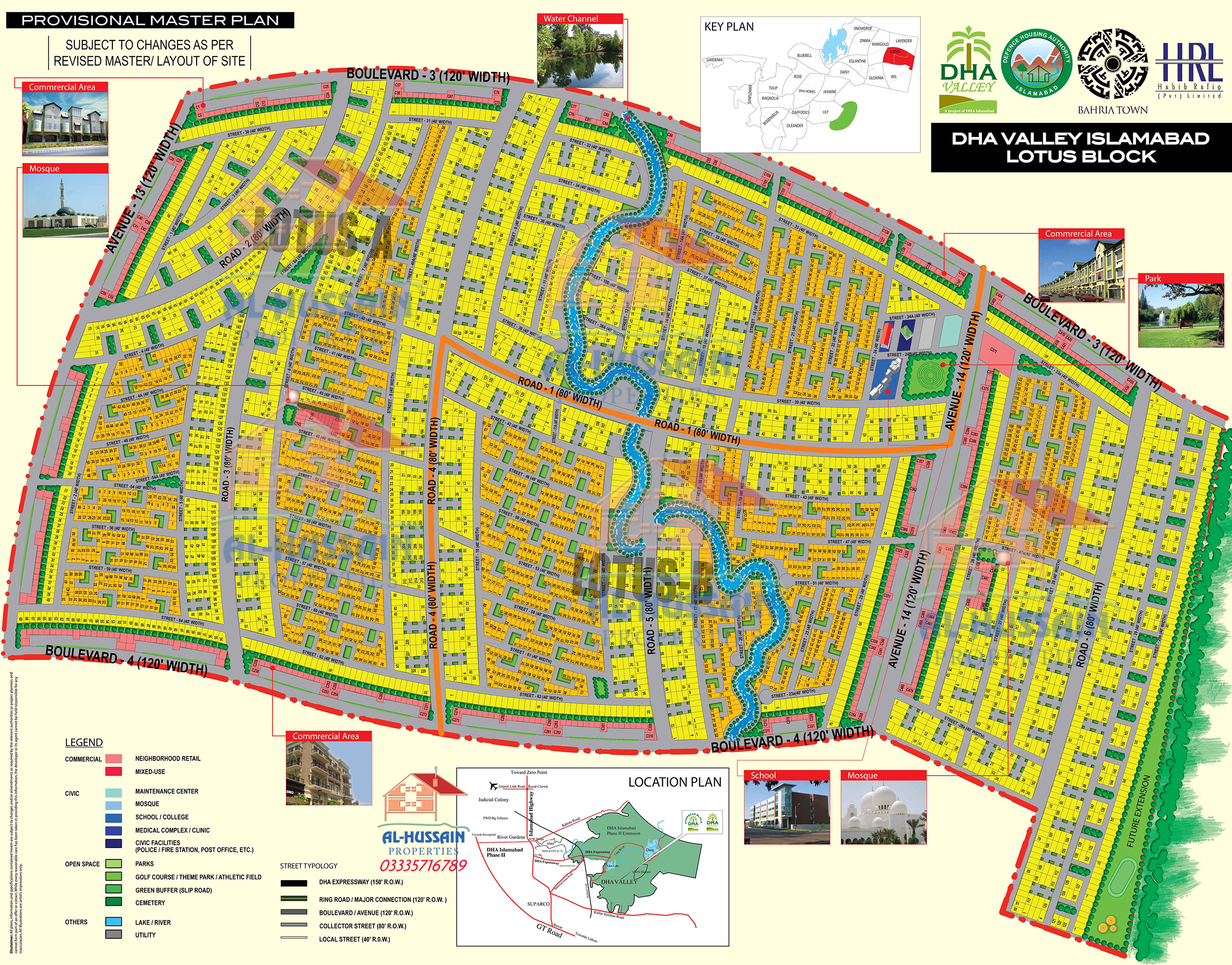 Lotus Block Dha Valley Islamabad