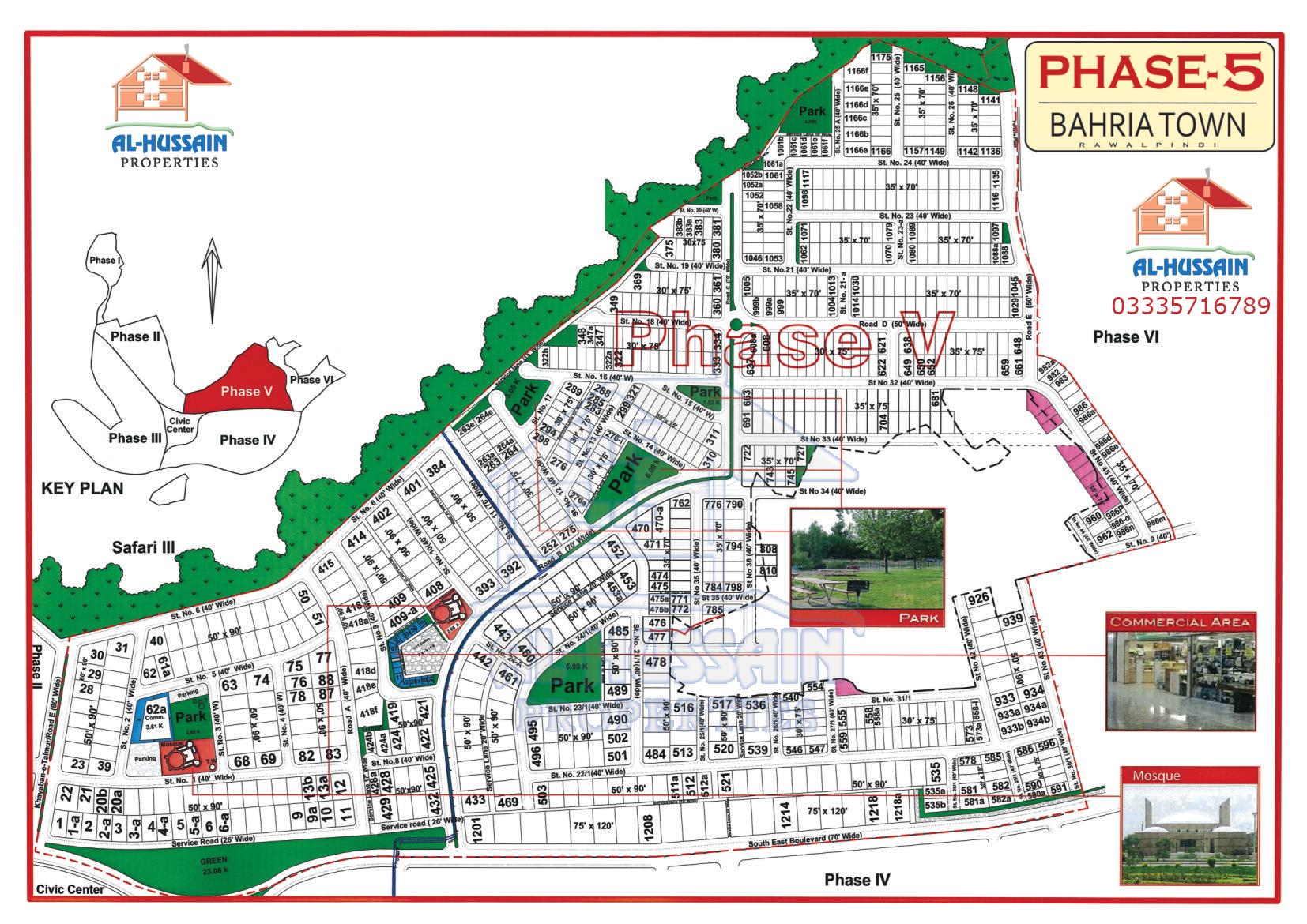 Phase 5 Bahria Town Rawalpindi Islamabad