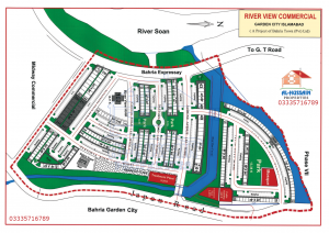 River View Commercial Garden City Bahria Town Islamabad