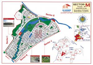 Master Plan Sector M Phase 8 Bahria Town Rawalpindi