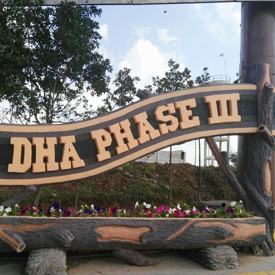 10 Marla Plot in Sector A,DHA Phase III(New Pindi)