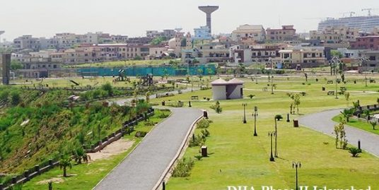 """1 kanal Plot is Available for Sale in D.H.A ,Phase II .Sector """"B""""Street#08"""