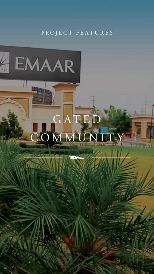 12 Marla plot in EMAAR DHA Phase V Islamabad