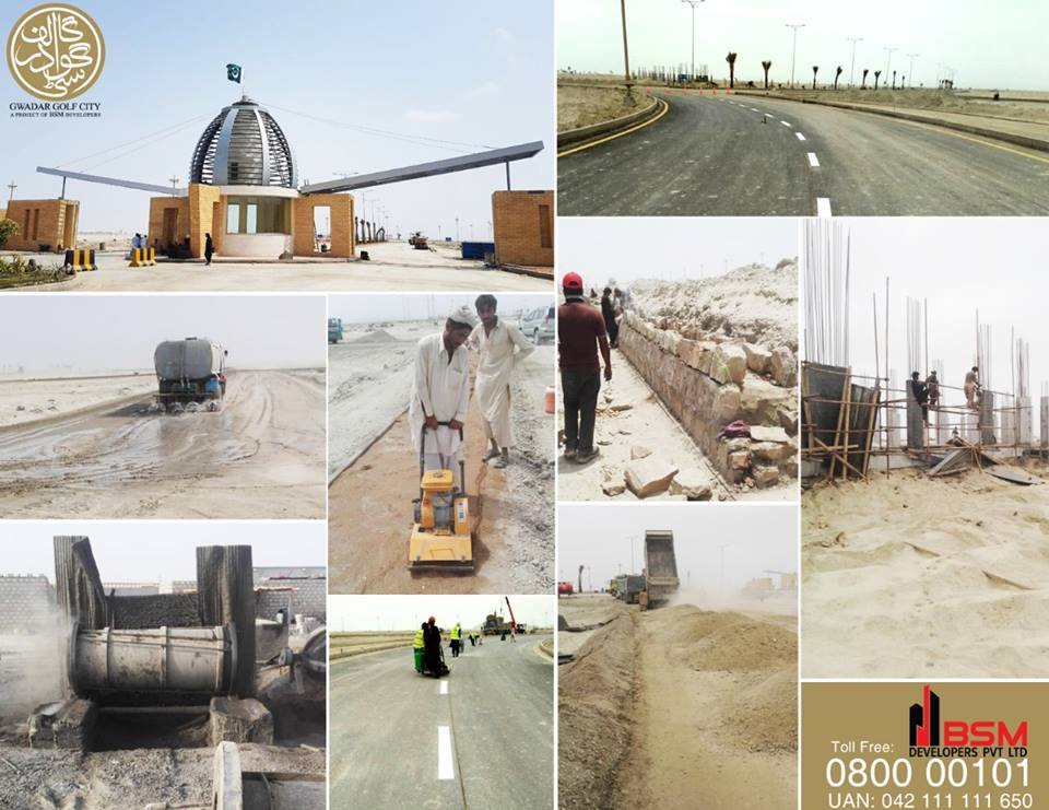 5 Marla Plots for sale in Gwadar Golf City