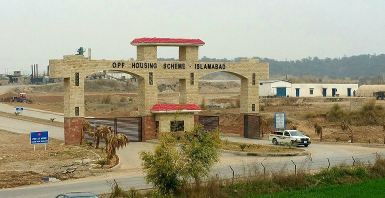 14.22 Marla Plot in Block H,OPF VALLEY Islamabad