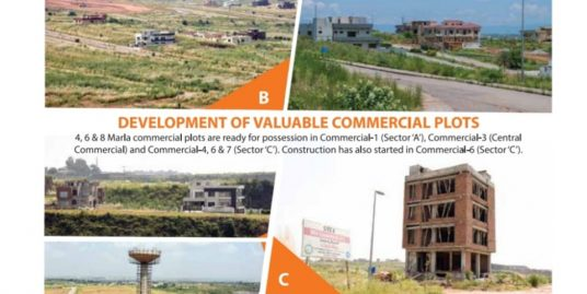 """500 Sq yards Plot in Sector """"F"""" DHA Phase V Islamabad"""