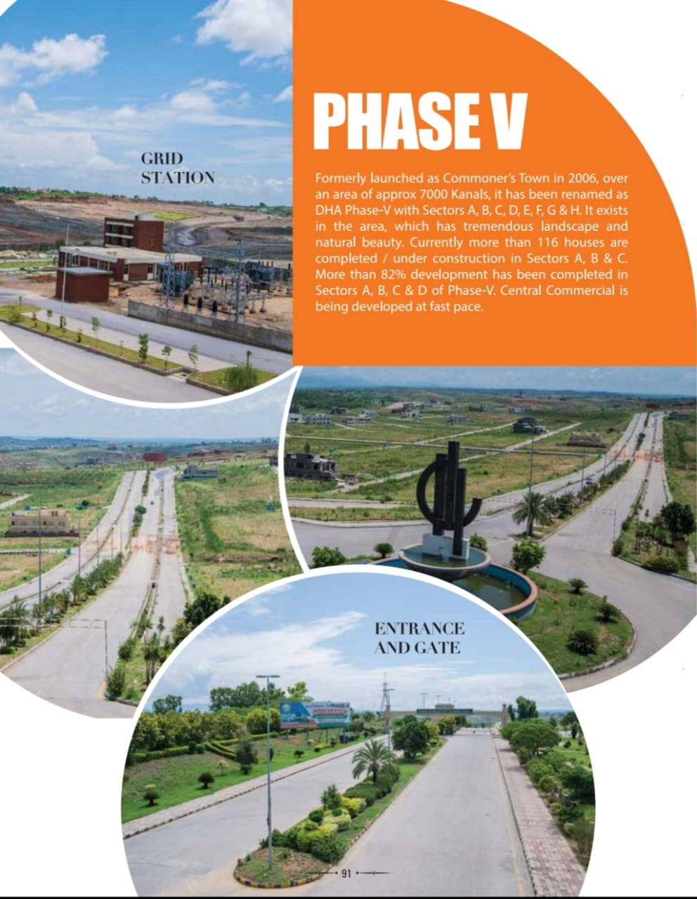 500 sq yards Plots available for Sale in DHA Phase 5 Islamabad