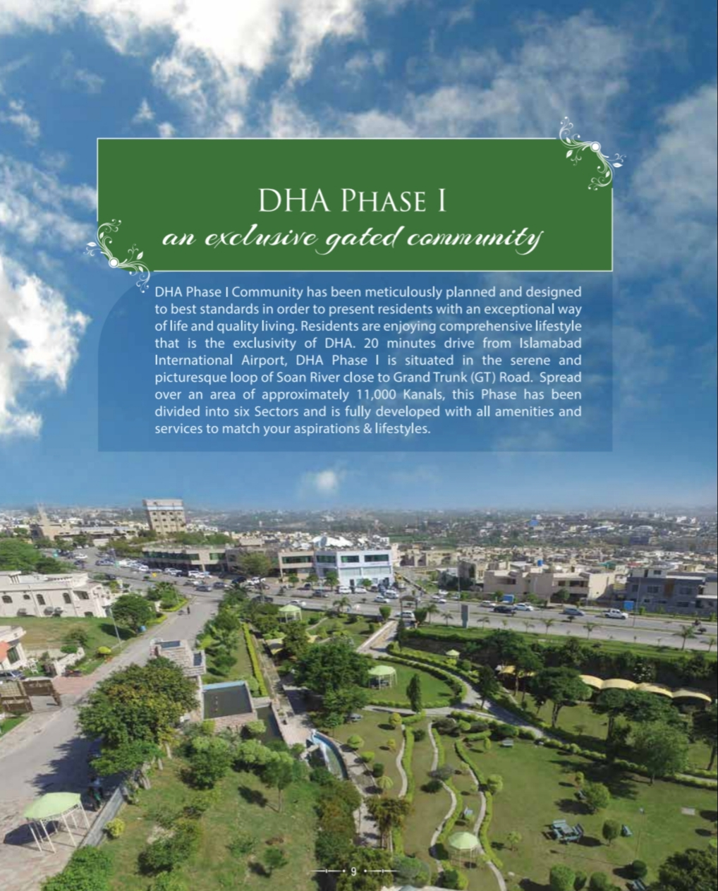 "500 sq.yards Plot in Sector ""B"" DHA Phase 1 Islamabad"