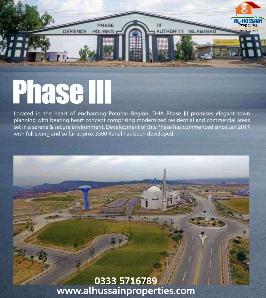 5 Marla Pair Plot in DHA Phase 3 Islamabad