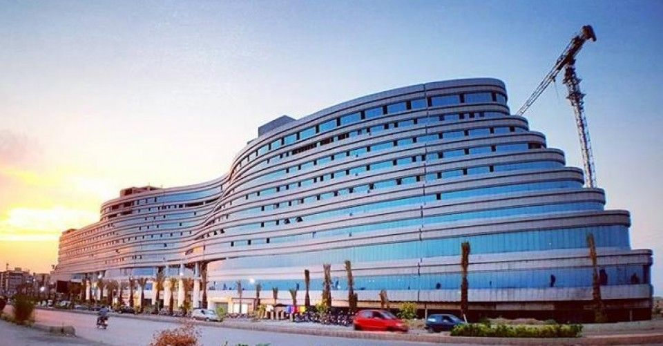 596 Sq ft,Corner Office for Rent in World trade centre DHA Islamabad