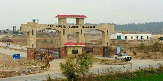 600 Sq yards Plot in OPF Valley Islamabad