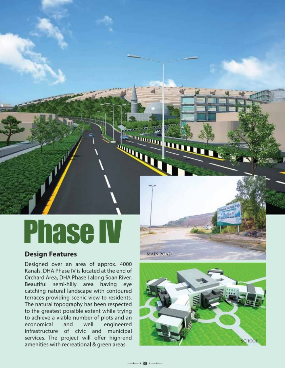 500 Sq yards Plot in DHA Phase IV Islamabad