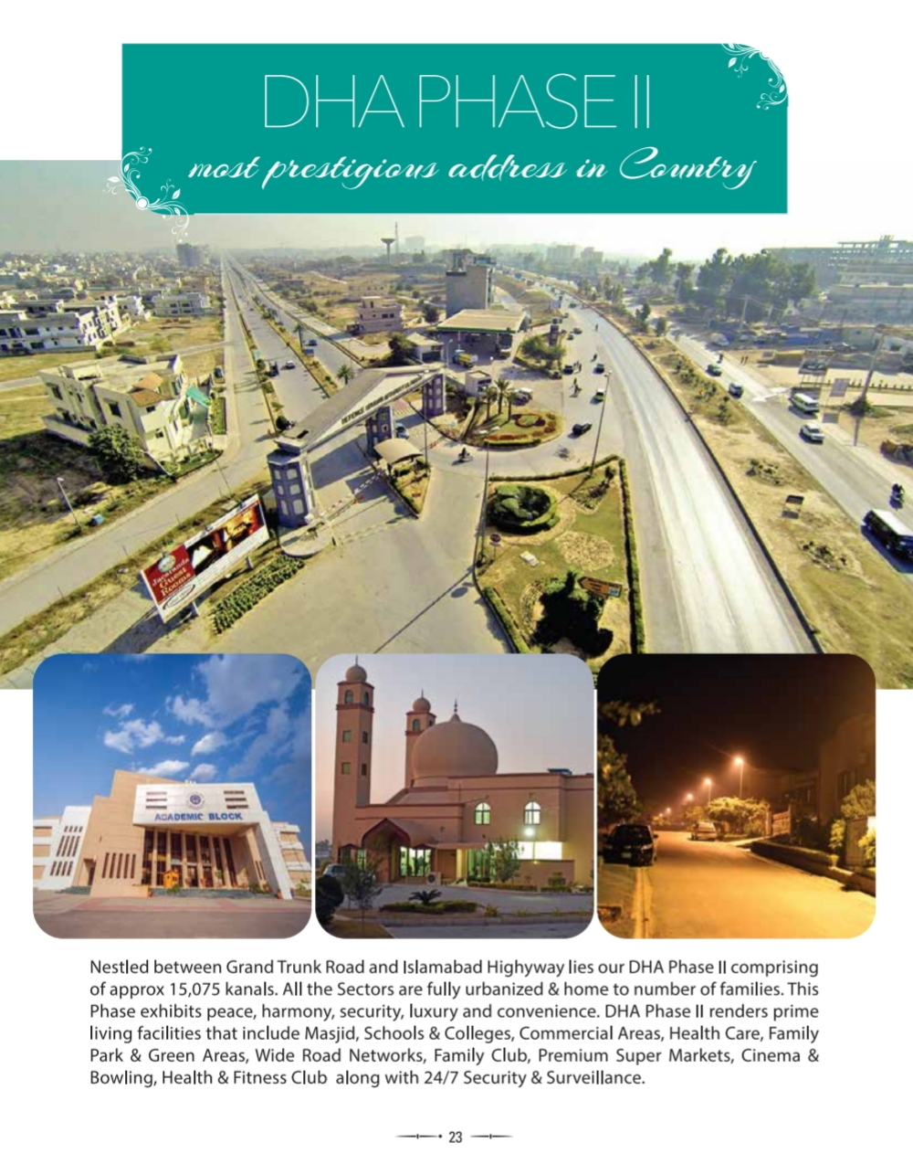 500 sq.yards Plot in Sector E,DHA Phase 2 Islamabad