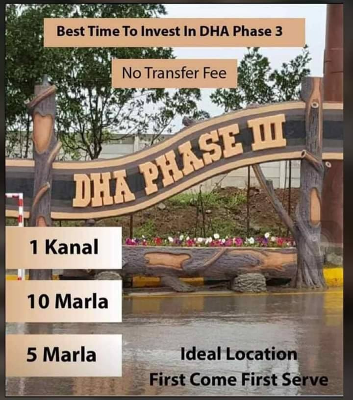 5 Marla Pair Plot in DHA III Islamabad