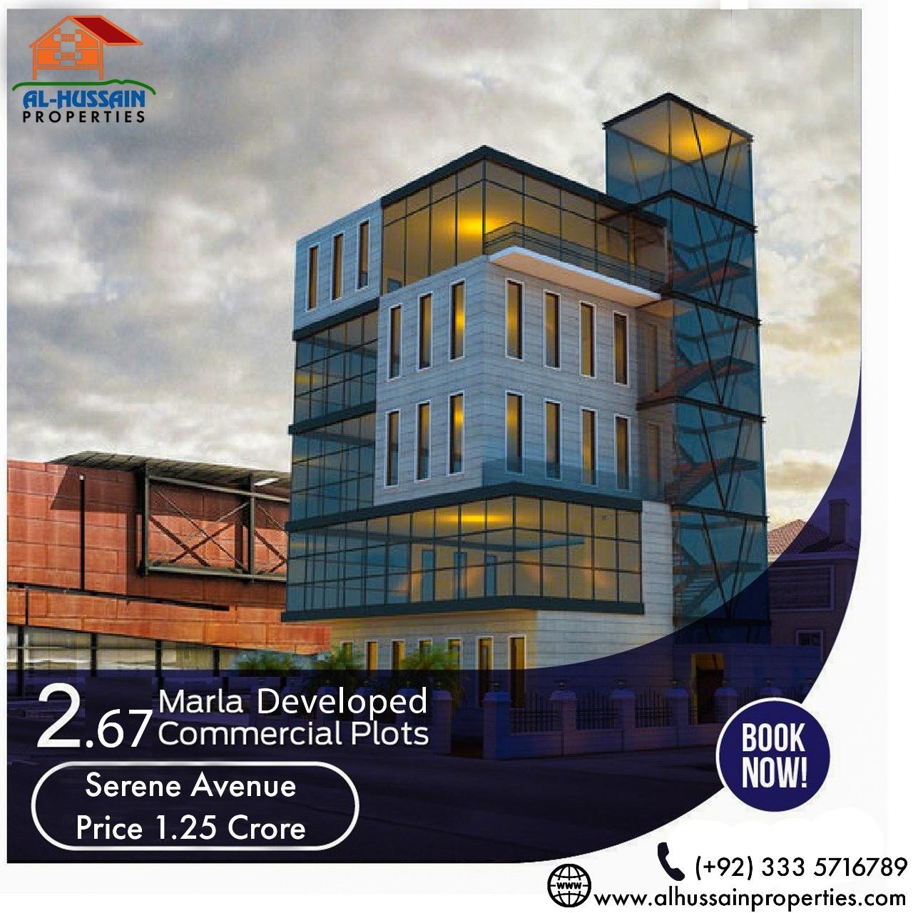 2.67 Marla Commercial Plot in DHA Phase 3 Rawalpindi