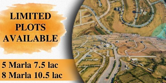 Dha Valley Commercial plot for sale