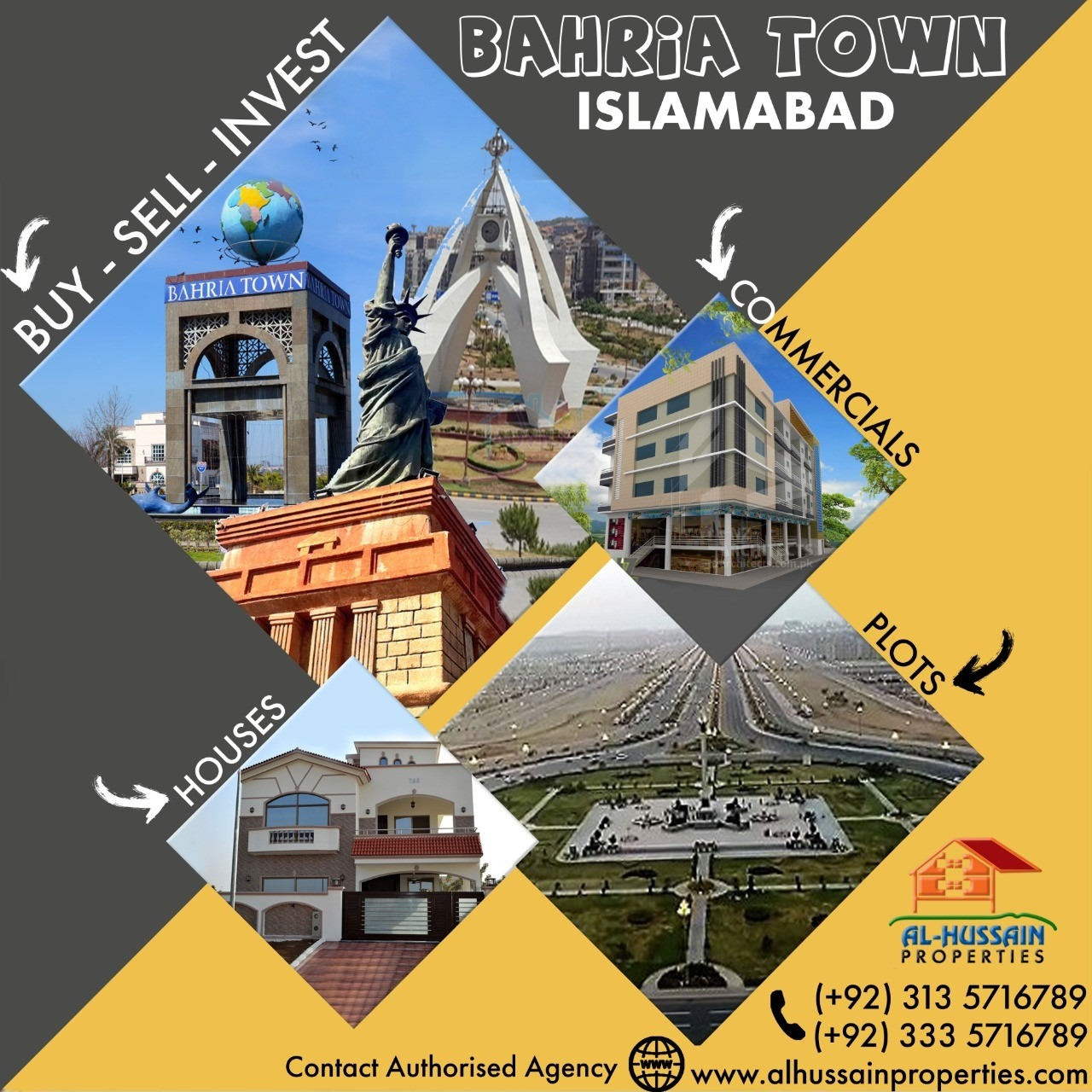 24 Marla Commercial Plot on Main Expressway Bahria Town Phase 8