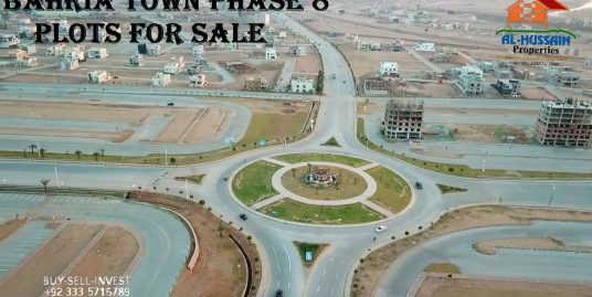Bahria Town Phase 8 Plots For Sale