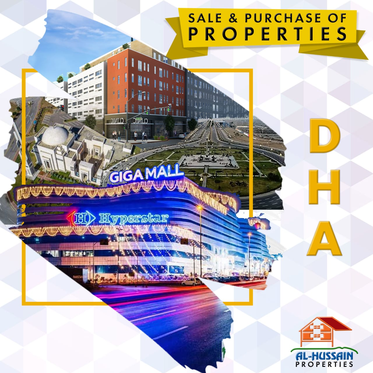 Commercial plot up for sale in DHA sector H