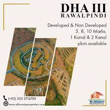 Commercial plot for sale in DHA phase 2 Islamabad