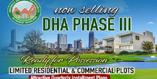 DHA 3 Serene city PLOTS ready for possession (Installments/Cash)