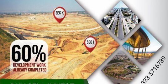 DHA-V Islamabad Sector J & K, 10 Marla & 1 Kanal Plots on Installments